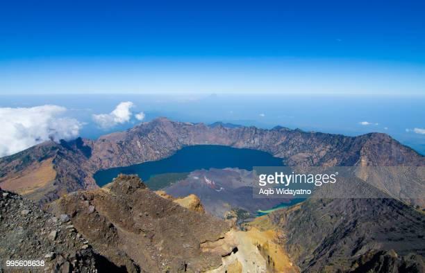 View From Mt. Rinjani Peak