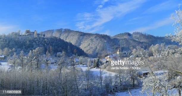 a view from my window - czech republic stock pictures, royalty-free photos & images