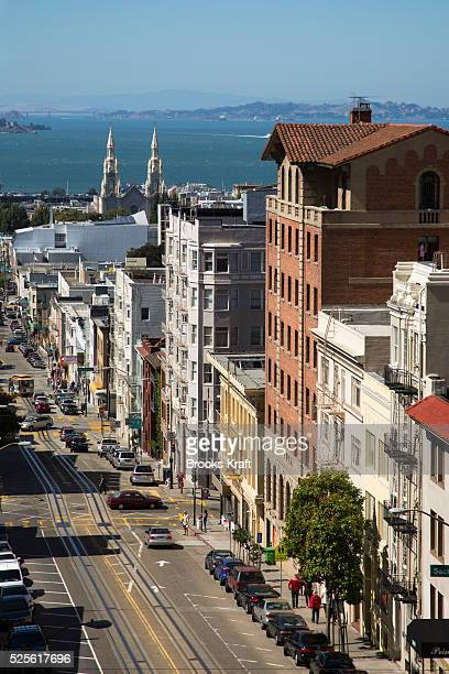 A view from Nob Hill in San Francisco