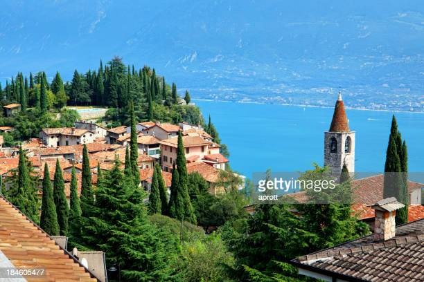 View from Pieve to Lake Garda