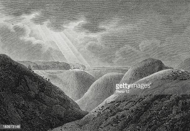 View from Saint Helena at the time of Napoleon I's exilePrint Alberto Ricci PhotographyAlberto Ricci Photo