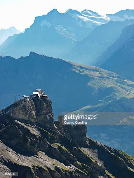 view from Schilthorn and the Swiss Alps