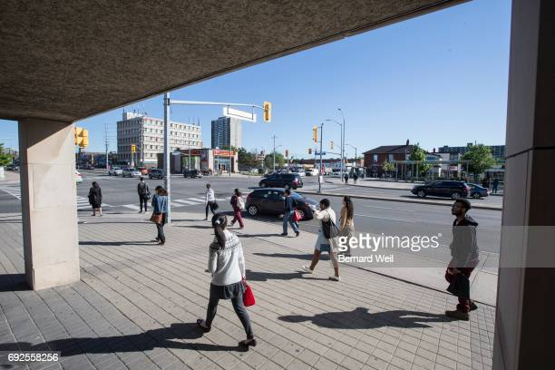 MISSISSAUGA ON JUNE 2 View from southeast corner of Hurontario St and Dundas St Mississauga looking at intersection Big changes are coming to...