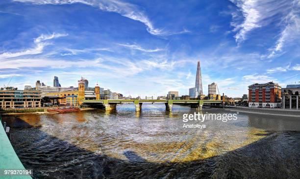View from Southwark Bridge, London