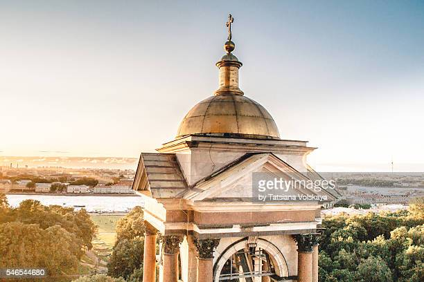 View from St. Isaac's Cathedral or Isaakievskiy Sobor, St. Petersburg, Russia