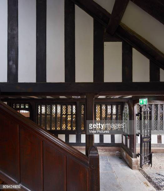 View from stairway to ground floor courtyard Shakespeare's Schoolroom StratforduponAvon United Kingdom Architect Wright Wright Architects LLP 2016