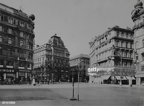 View from Stephansplatz on the StockimEisenPlatz with the Palais Equitable About 1930 Photograph