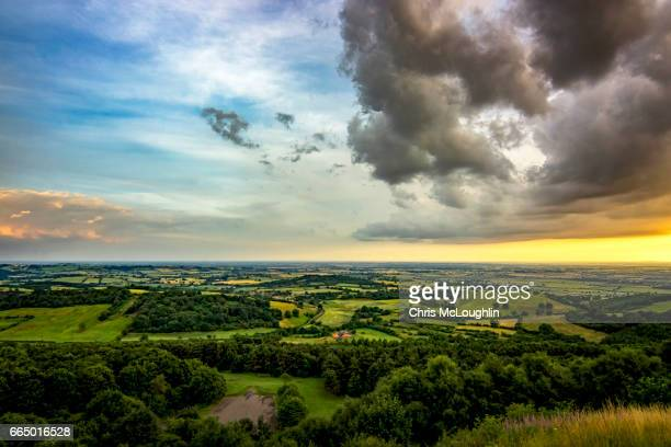 view from sutton bank - ヨークシャー ストックフォトと画像