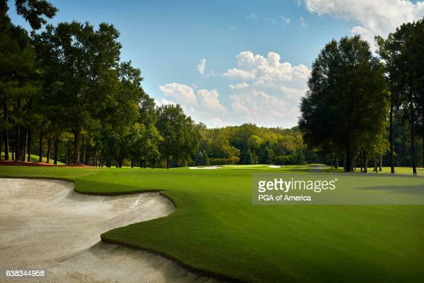 A view from the 10th hole of Quail Hollow Club on September 30 2016 in Charlotte North Carolina