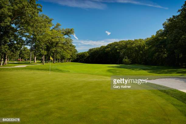 A view from the 13th hole of Olympia Fields Country Club on August 23 2016 in Olympia Fields Illinois