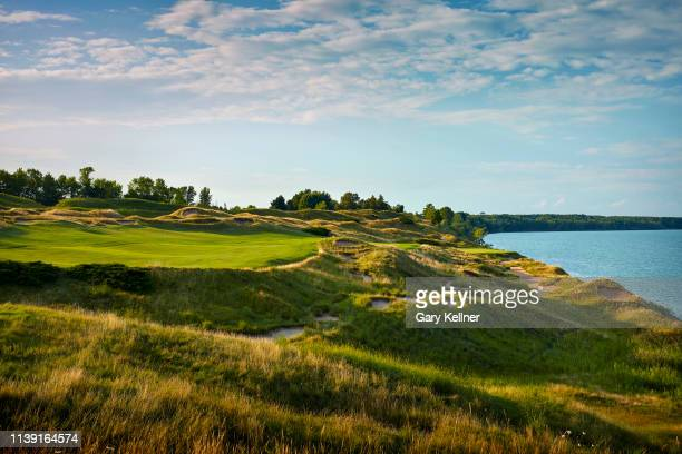 View from the 13th hole of Whistling Straits Golf Course on October 15, 2018 in Sheboygan, Wisconsin.