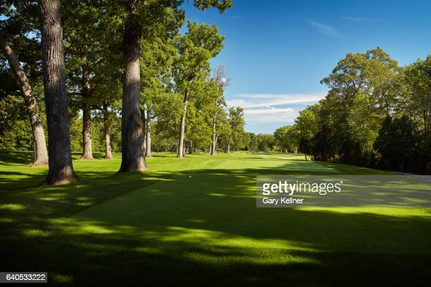 A view from the 14th hole of Olympia Fields Country Club on August 23 2016 in Olympia Fields Illinois