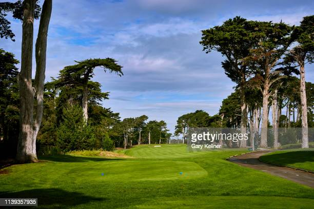 View from the 14th hole of TPC Harding Park on October 2, 2018 in San Francisco, California.