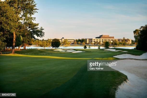 A view from the 15th hole of Kemper Lakes Golf Club on August 24 2016 in Kildeer IL