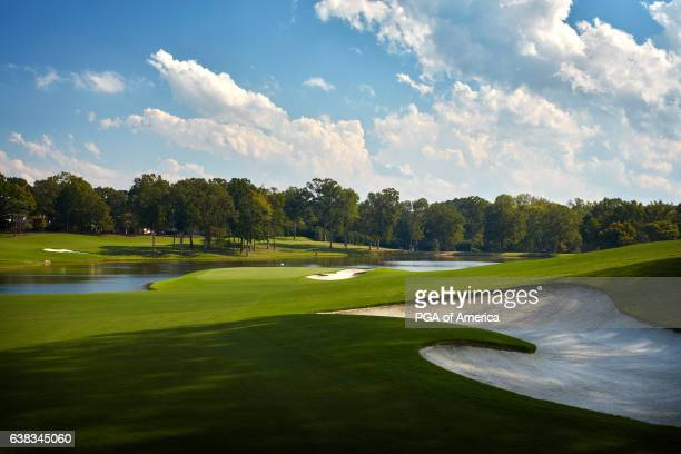 View from the 16th hole of Quail Hollow Club on September 30, 2016 in Charlotte, North Carolina.
