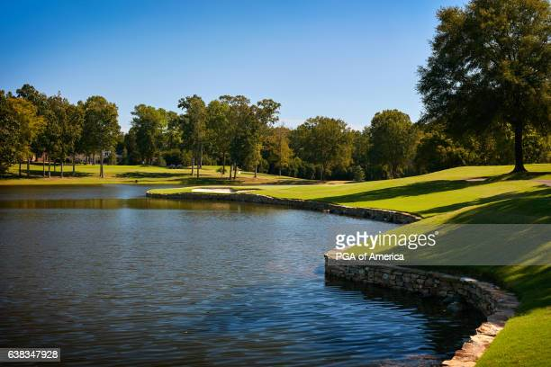 View from the 17th hole of Quail Hollow Club on September 30, 2016 in Charlotte, North Carolina.