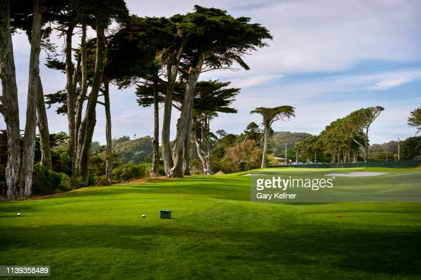 View from the 17th hole of TPC Harding Park on October 2, 2018 in San Fransisco, California.