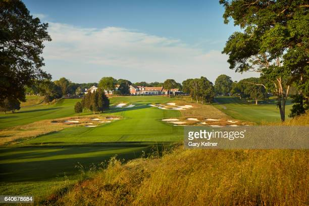 A view from the 18th hole of Bethpage State Park Black Course onn June 6 2016 in Farmingdale New York