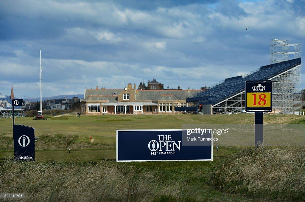 Open Championship Media Day : News Photo