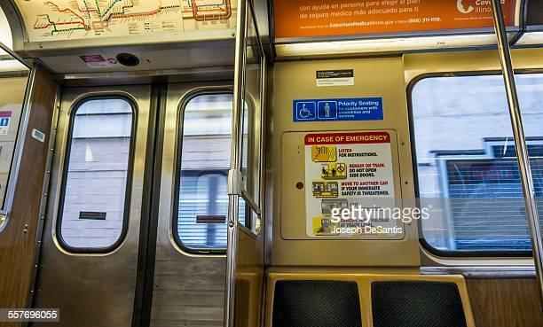 View from the Chicago 'L' train near Jackson Blvd Chicago Illinois Taken April 3 2014