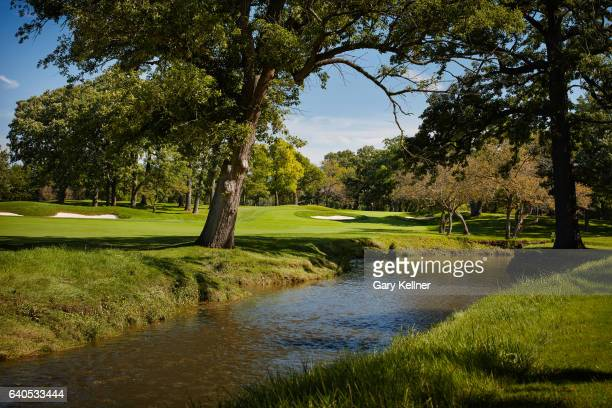 A view from the eighth hole of Olympia Fields Country Club on August 23 2016 in Olympia Fields Illinois