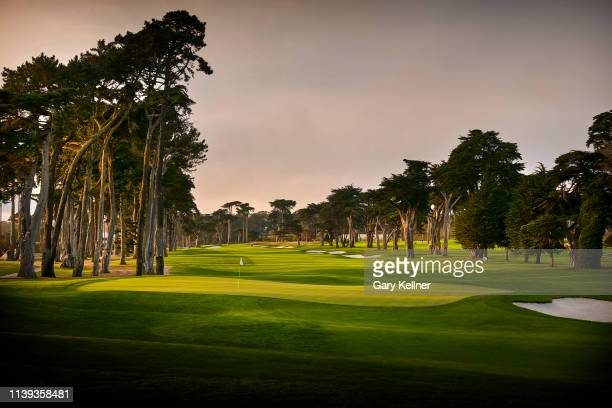 View from the eighth hole of TPC Harding Park on October 2, 2018 in San Fransisco, California.