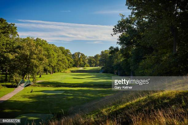 A view from the fifth hole of Olympia Fields Country Club on August 23 2016 in Olympia Fields Illinois