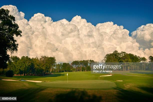 View from the first hole of Quail Hollow Club on September 30, 2016 in Charlotte, North Carolina.