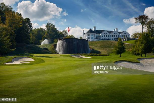 A view from the first hole of Trump National Golf Club on October 12 2016 in Sterling Virgina