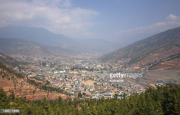 View from the hill,Thimphu,Bhutan