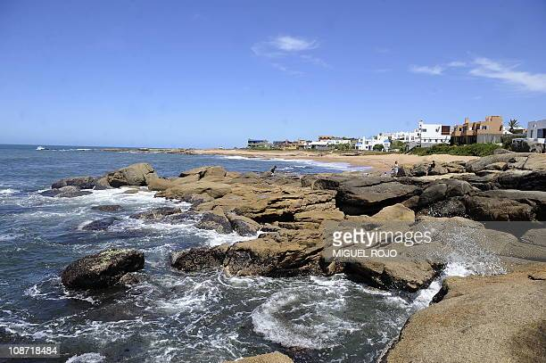View from the lighthouse in Jose Ignacio Maldonado 180km east of Montevideo on January 18 2011 AFP PHOTO/Miguel ROJO