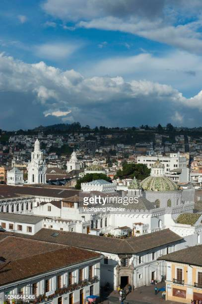 View from the Monastery of St. Francis, commonly known as el San Francisco, a 16th-century Roman Catholic complex of the historic center of the city...