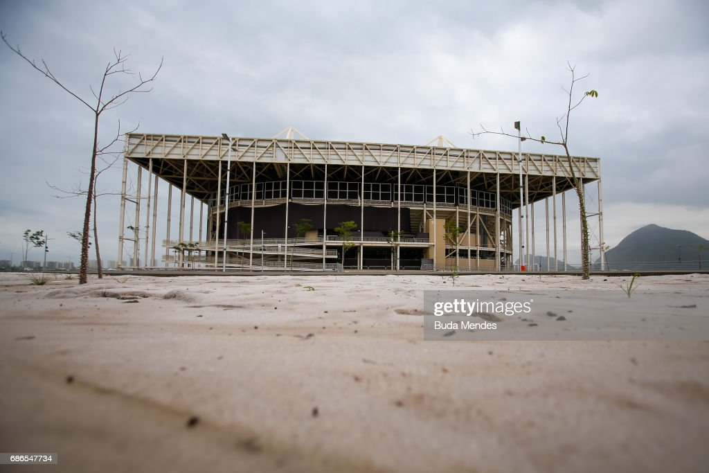 The Olympic Park 9 Months After the Rio 2016 Olympics : News Photo
