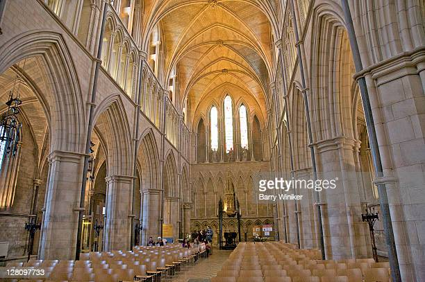 View from the nave, Southwark Cathedral, London, United Kingdom