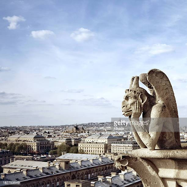 View from the Notre Dame, Paris