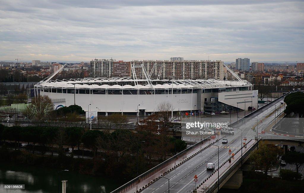 General Views of Stadium Municipal - UEFA Euro Venues France 2016 : News Photo