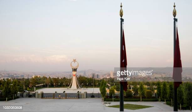 View from the Presidential Complex in Ankara on September 05 2018 in Ankara Turkey