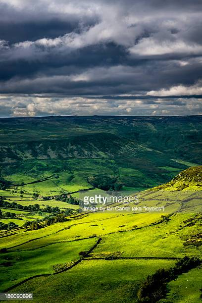 view from the road from whitby to danby - whitby north yorkshire england stock pictures, royalty-free photos & images