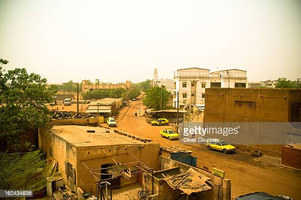 View from the rooftop of local Mali eduction charity ACDE.
