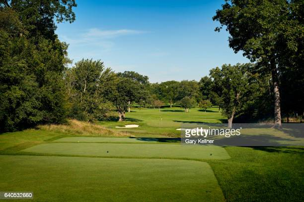 A view from the seventh hole of Olympia Fields Country Club on August 23 2016 in Olympia Fields Illinois