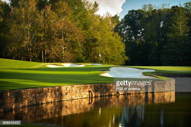 A view from the seventh hole of Quail Hollow Club on September 30 2016 in Charlotte North Carolina