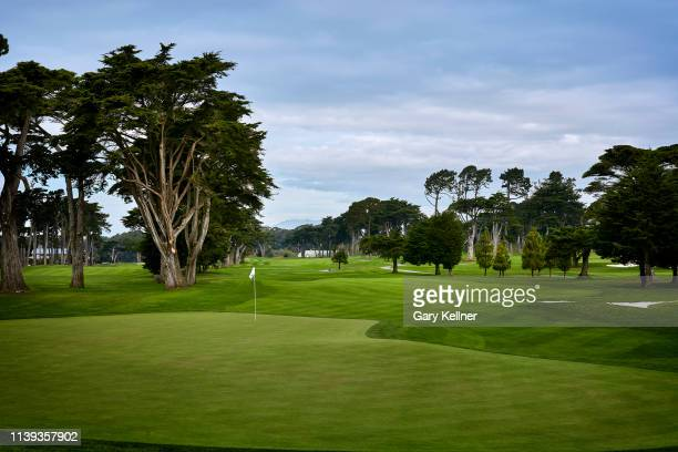 View from the seventh hole of TPC Harding Park on October 2, 2018 in San Fransisco, California.