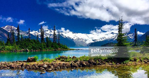 View from the shores of Garibaldi Lake
