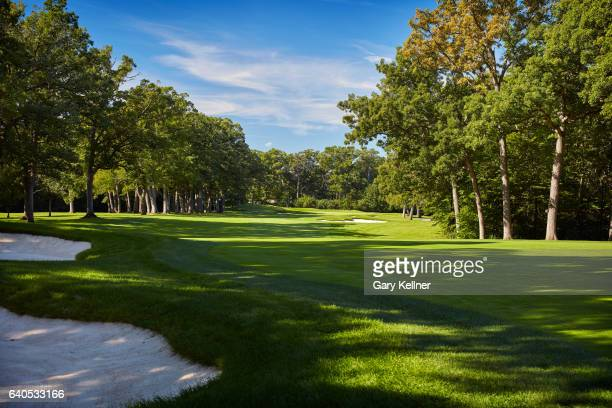 A view from the sixth hole of Olympia Fields Country Club on August 23 2016 in Olympia Fields Illinois