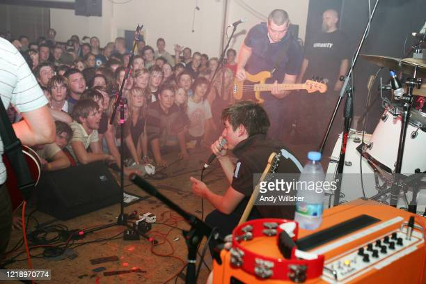 View from the stage, Arctic Monkeys in Barnsley in 2005