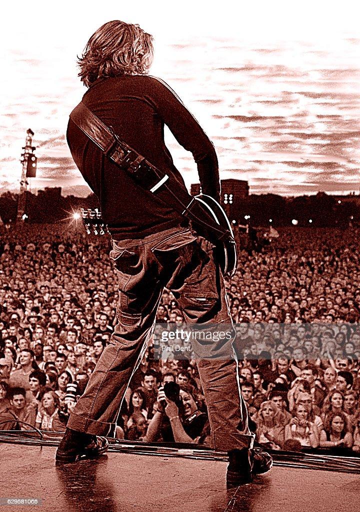 Guitarist : Nachrichtenfoto