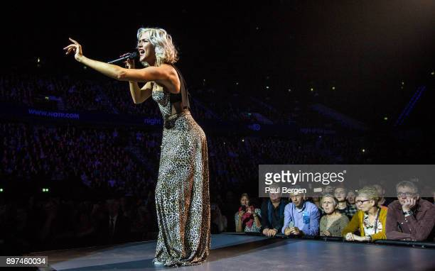 View from the stage showing the audience as British soul singer Joss Stone performs at Night of the Proms Ahoy Rotterdam Netherlands 18th November...