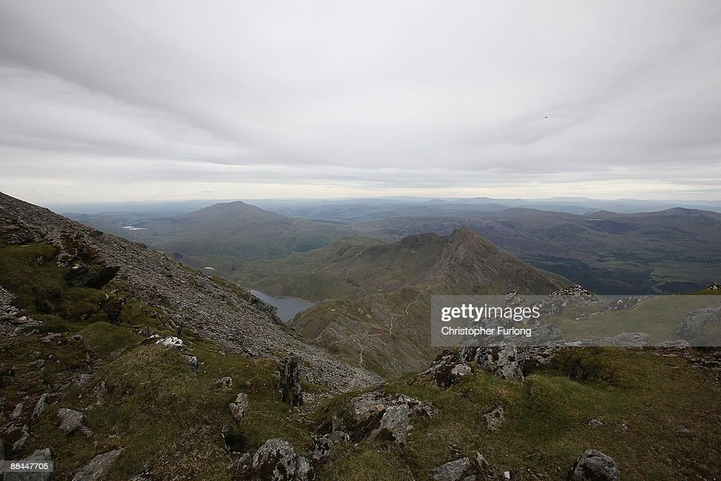 The Cafe At The Peak Of Snowdonia Is Officially Opened : News Photo