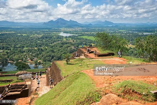 View from the Summit of Sigiriya Rock, Sri Lanka