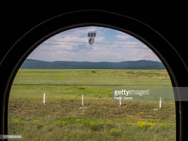 A view from the the TransSiberian Railway from MoscowVladivostok Spanning a length of 9289km is the longest uninterrupted single country train...